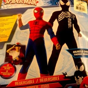 Spider-Man (BoYs 4-6) costume REVERSIBLE